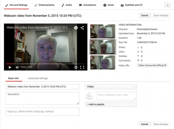 Need to record a course intro or video message?
